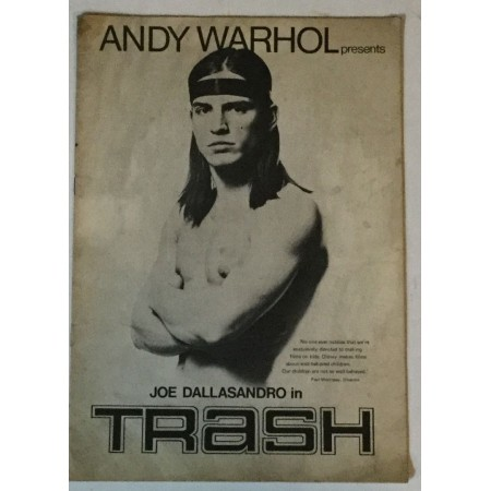ANDY WARHOL PRESENTS JOE DALLASANRO IN TRASH