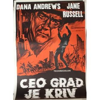 SPRINGSTEEN R-G : CEO GRAD JE KRIV , FILMSKI PLAKAT , DANA ANDREWS