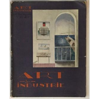 VICTOR DE LA FORTELLE : ART ET INDUSTRIE , ČASOPIS BROJ .9  IZ  GODINE 1929.