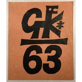 GRAFIKA BEOGRADSKOG KRUGA , KATALOG IZLOŽBE U GALERIJI GRAFIČKOG KOLEKTIVA U BEOGRADU 1963.