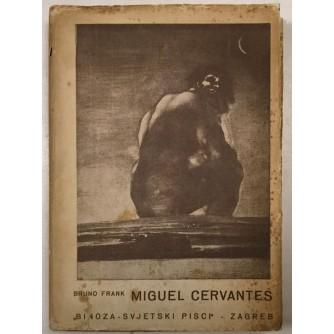 BRUNO FRANK : MIGUEL CERVANTES , IZDANJE BINOZA