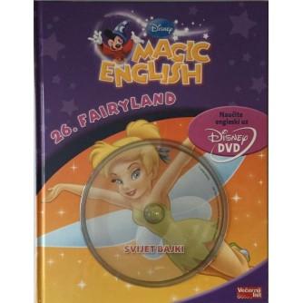 DISNEY MAGIC ENGLISH : FAIRYLAND-SVIJET BAJKI : NAUČITE ENGLESKI : S DVD-OM