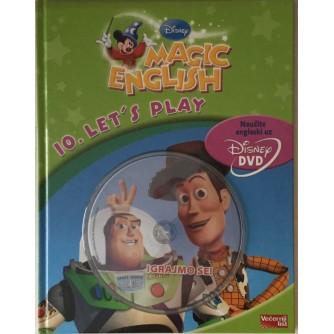 DISNEY MAGIC ENGLISH : LET'S PLAY-IGRAJMO SE : NAUČITE ENGLESKI : S DVD-OM