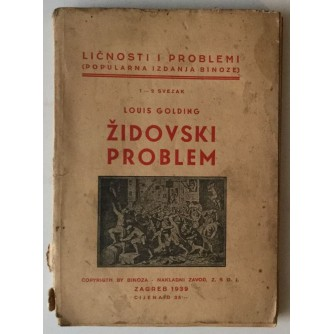 LOUIS GOLDING : ŽIDOVSKI PROBLEM