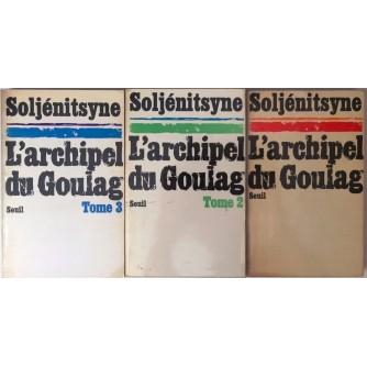 ALEXANDRE SOLJENITSYNE : L' ARCHIPELAG DU GOULAG I-III