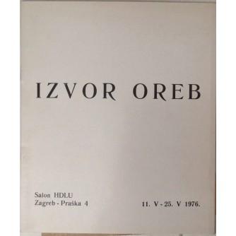 IZVOR OREB , KATALOG  IZLOŽBE HDLU  1976.