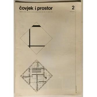ČOVJEK I PROSTOR ČASOPIS : 1988. GODINA BROJ 419