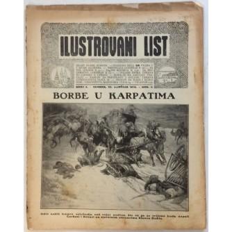 ILUSTROVANI LIST,ČASOPIS : BROJ 4,1915.-GOD.II.