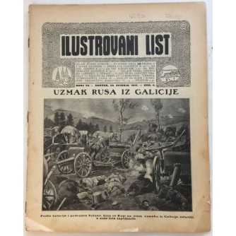 ILUSTROVANI LIST,ČASOPIS : BROJ 22,1915.-GOD.II.