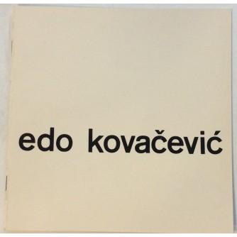 EDO KOVAČEVIĆ KATALOG IZLOŽBE 1964. : OPREMIO IVAN PICELJ