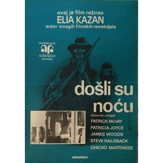 ELIA KAZAN : FOŠLI SU NOĆU , FILMSKI PLAKAT