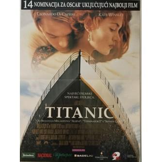 JAMES CAMERUN : TITANIC , FILMSKI PLAKAT