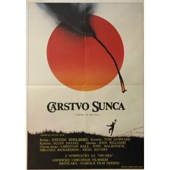 STEVEN SPIELBERG : CARSTVO SUNCA , FILMSKI PLAKAT