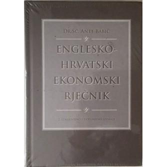 DR. SC. ANTE BABIĆ : ENGLESKO HRVATSKI EKONOMSKI RJEČNIK