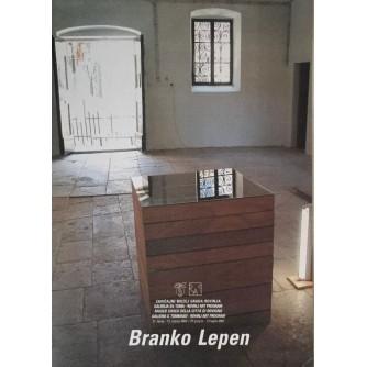 BRANKO LEPEN , KATALOG IZLOŽBE , ROVINJ 2002