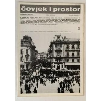 ČOVJEK I PROSTOR ARHITEKTURA 1977. BROJ 288