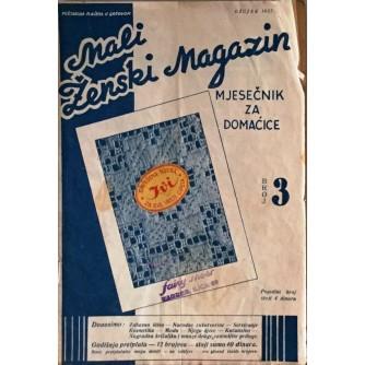 MALI ŽENSKI MAGAZIN : 1937. BROJ 3