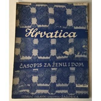 HRVATICA ČASOPIS ZA ŽENU I DOM 1939. BROJ 6