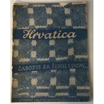 HRVATICA ČASOPIS ZA ŽENU I DOM 1939. BROJ 10