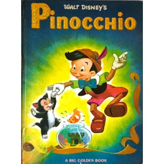 WALT DISNEY PINOCCHIO 1966.