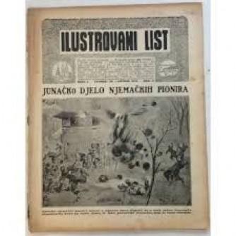 ILUSTROVANI LIST,ČASOPIS : BROJ 5,1915.-GOD.II.