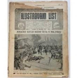 ILUSTROVANI LIST,ČASOPIS : BROJ 7,1915.-GOD.II.