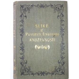Vladoje Dukat: Slike iz povijesti engleske književnosti