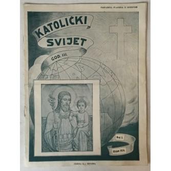 Katolički svijet godina 1934. broj 3