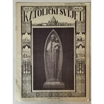 Katolički svijet godina 1933. broj 5