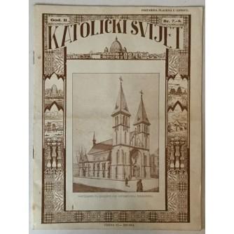 Katolički svijet godina 1933. broj 7-8