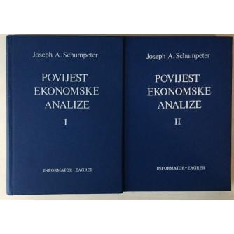 Joseph A. Schumpeter: Povijest ekonomske analize I-II