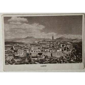Labin: stara razglednica stara fotografija Starog grada