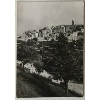 Labin: stara razglednica pogled na dio Starog grada