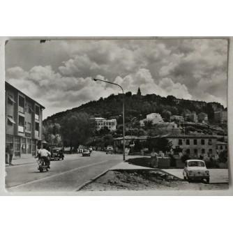 Labin: stara razglednica pogled uz cestu