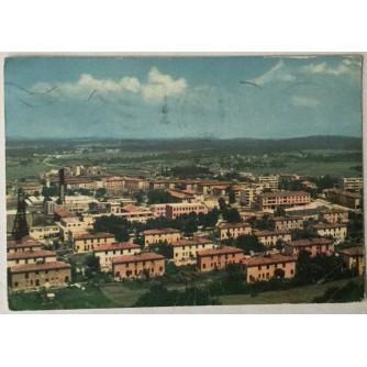 Labin: stara razglednica Podlabin zgrade