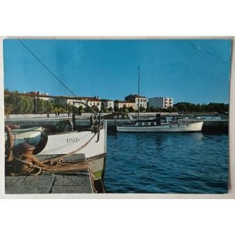 Fažana: stara razglednica pramac broda Finera