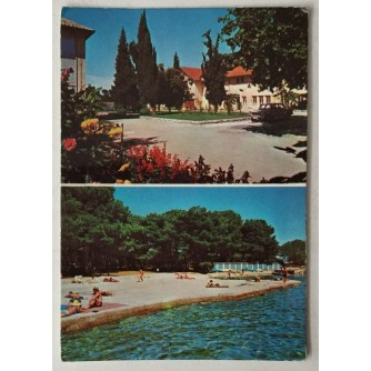 Fažana, Valbandon: stara razglednica