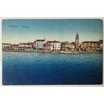 Fažana: stara razglednica Fasana Panorama