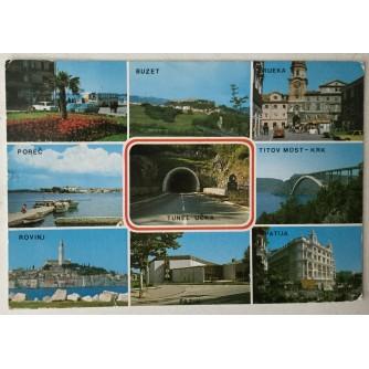 Istra i Kvarner: stara razglednica