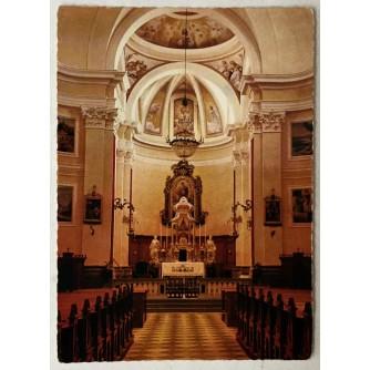 Buzet: stara razglednica crkva u Buzetu