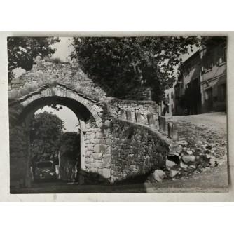 Buzet: stara razglednica Velika vrata