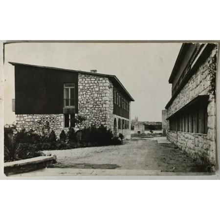 Medulin: stara razglednica Dječje ljetovalište NOGZ - a zgrade 1