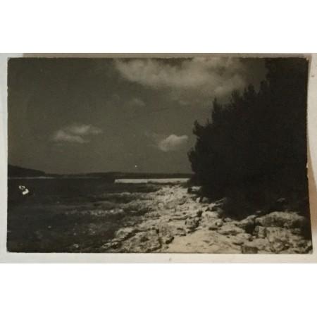 Medulin: stara razglednica obala