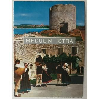 Medulin: stara razglednica Medulin Istra