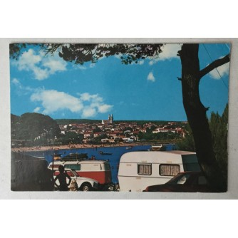 Medulin: stara razglednica Autokamp