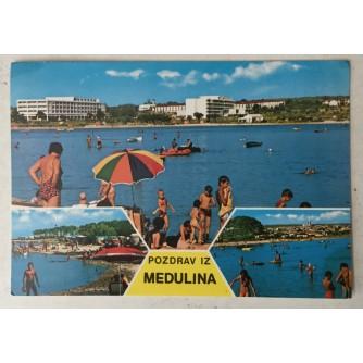 Medulin: stara razglednica 3 motiva Pozdrav iz Medulina