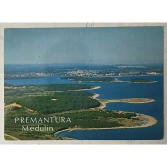 Medulin, Premantura: stara razglednica panorama
