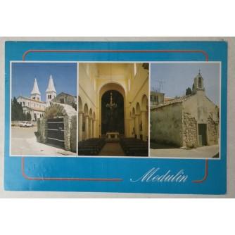 Medulin: stara razglednica Crkva svete Agneze