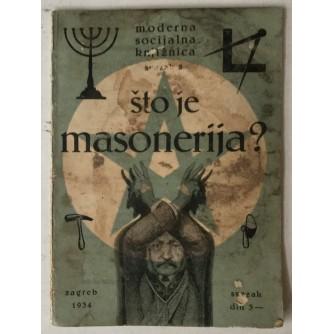 Što je masonerija?