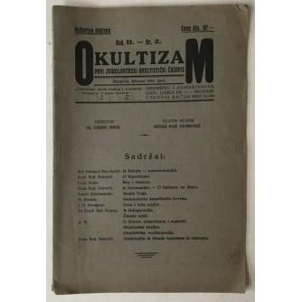Okultizam, prvi jugoslavenski okultistički časopis broj 2 godina 1931.